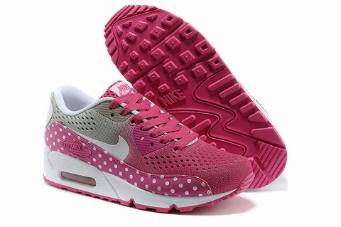 nike air max 90 rose fluo femme