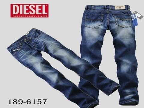 Veste en jean diesel homme pas cher