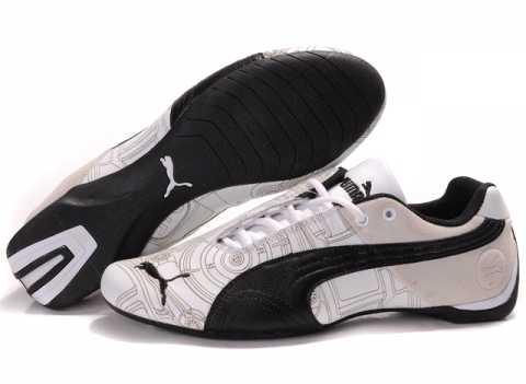 Racing Chaussure En chaussure chaussure Cuir Puma Vintage 9HIDE2