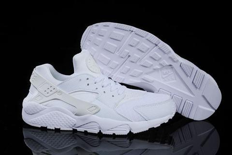nike Huarache Blanche Nike Toute Trainer Noir xodCerB
